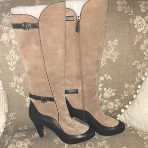 Bally Italian suede ladies boots